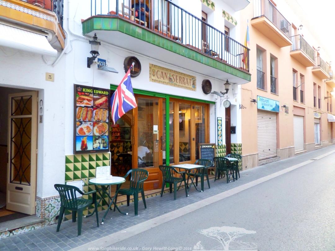 English bar in Tossa de Mar
