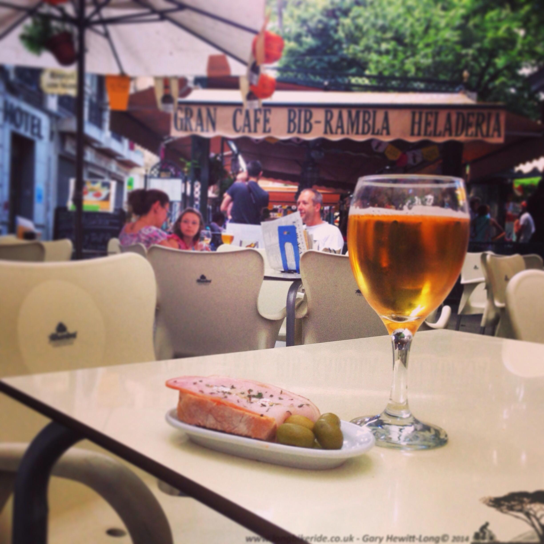 Beer and Tapas anyone €1.50