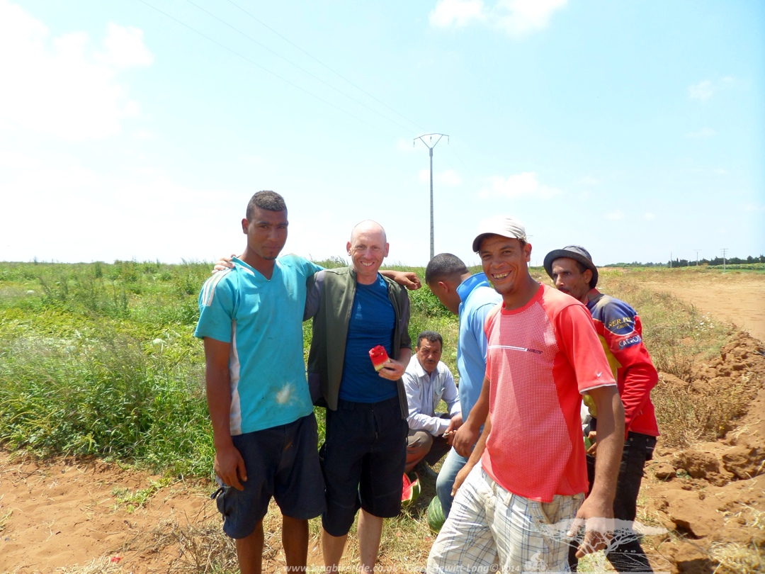 Water melon farmers