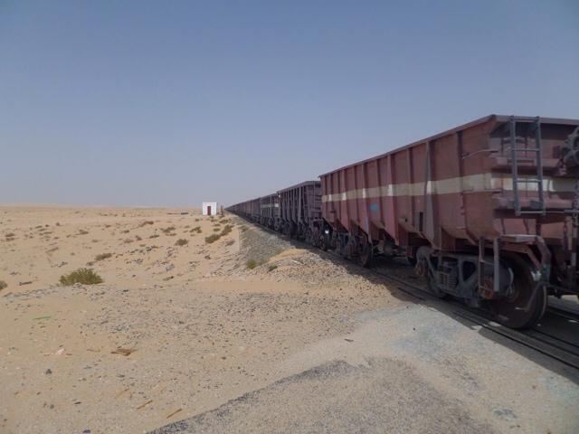 Worlds biggest train