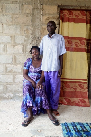 Oumar Guye and his wife (Thies)