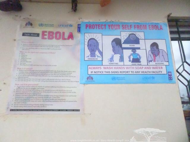 Ebola warning signs