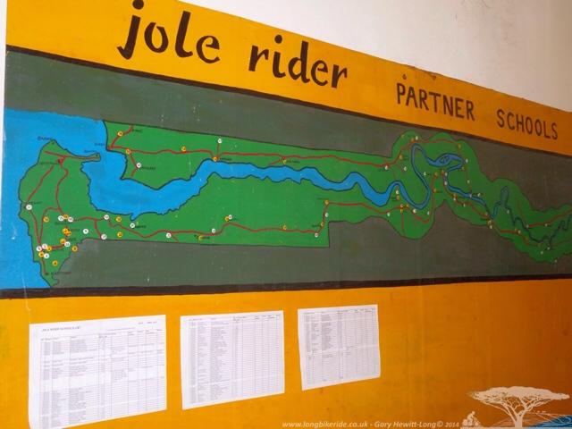 Jole rider visit