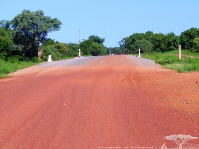 Coming into Burkina, Good Roads