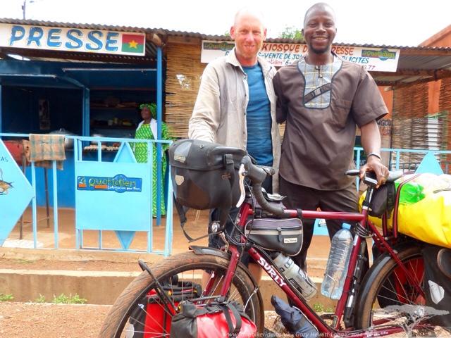La Presse Cafe, good coffee and food in Koudougou, Burkina Faso