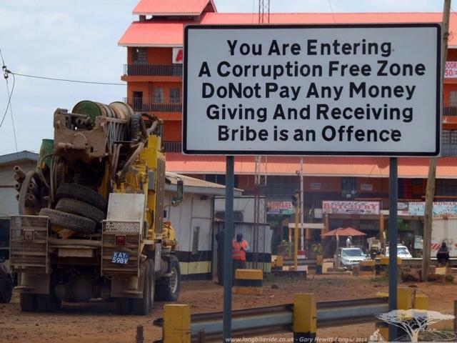No Corruption!