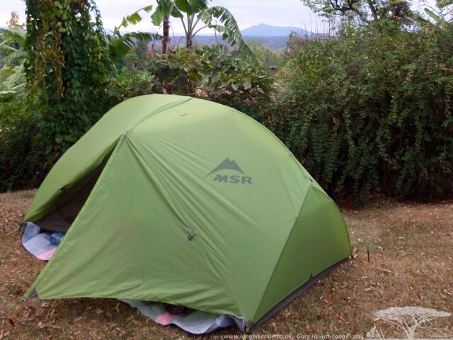 Camping in Felix & Margrate's Garden