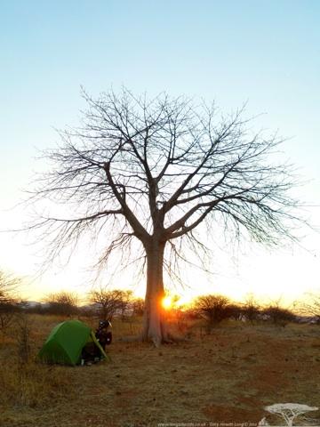 Sunrise Near Mtera Reservoir