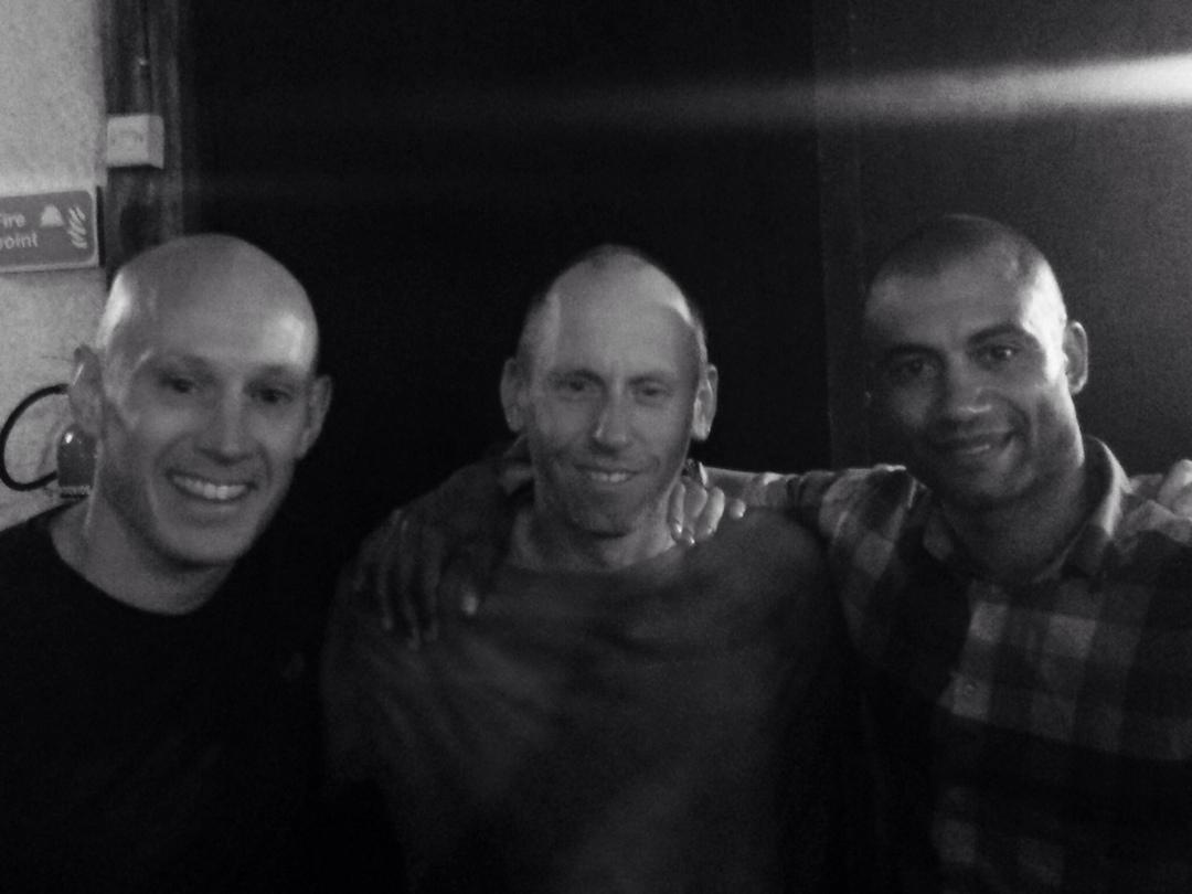 Dave, Dan and myself at Kongonis, Nanyuki
