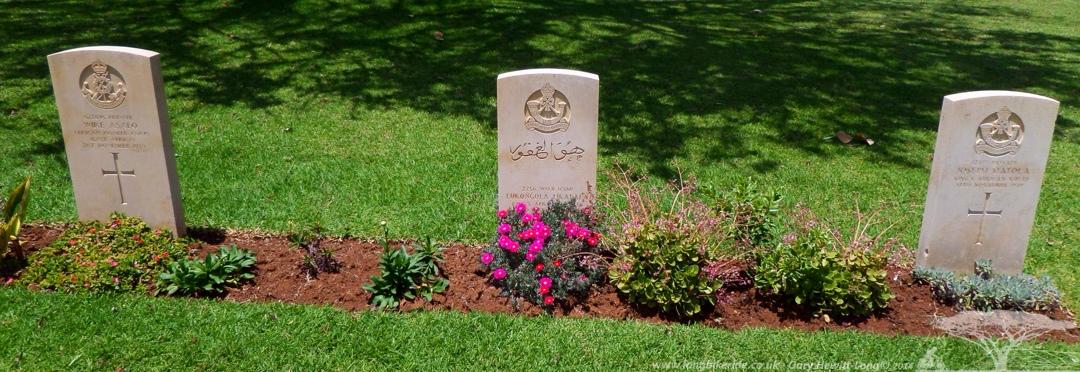Christian and Muslim War Graves in Nanyuki