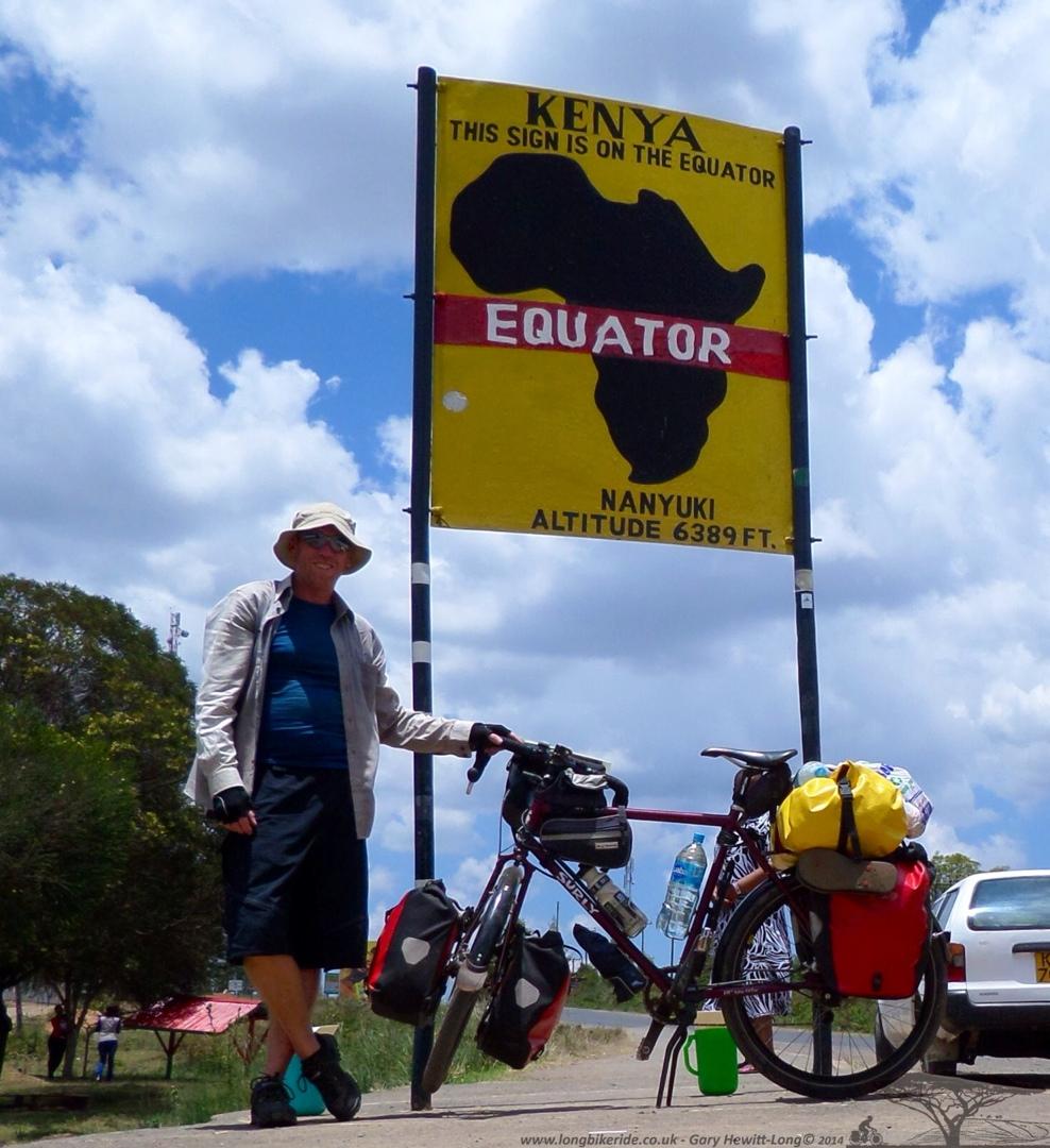 Equator crossing 2 - Nanyuki