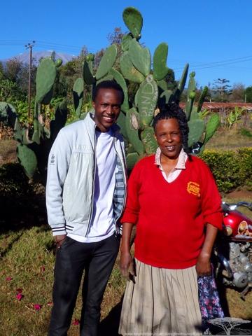 Ainhard & his Mum :-)