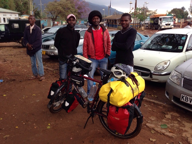 Friendly guys at Kenyan/Tanzanian Border