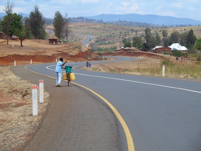 Road Out Of Babati - Tanzania