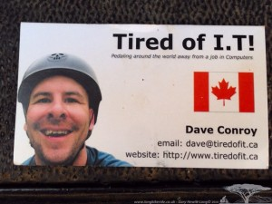 Dave Conroy - Tired of IT