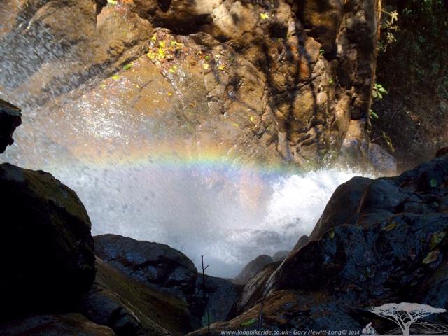 Chasing Rainbows at Mantchewe Falls