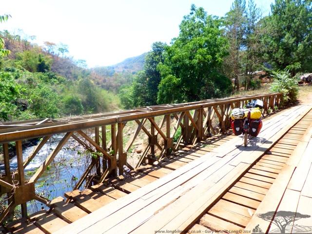 Bridge over the river Rumphi