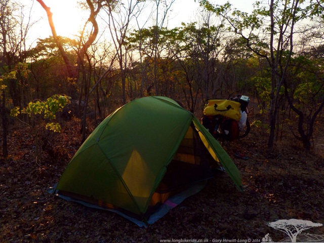 Wild Camping in the Bush