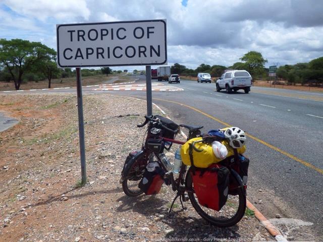 Tropic of Capricorn in Botswana