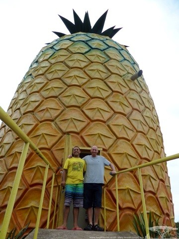 The worlds biggest Pineapple