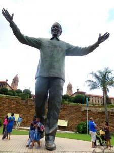 Mandela Statue in Pretoria