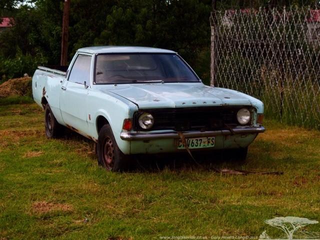 An old MkIII Cortina Pickup-Bakkie