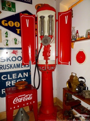 A very old Petrol Pump
