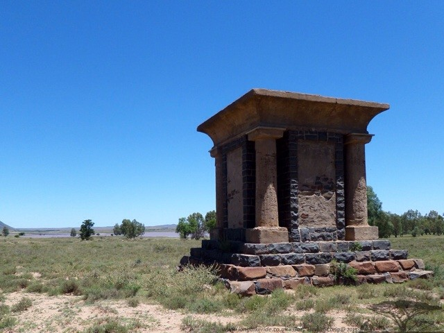 Unfinished monument to Women and Children of Boer War - Bethulie, South Africa