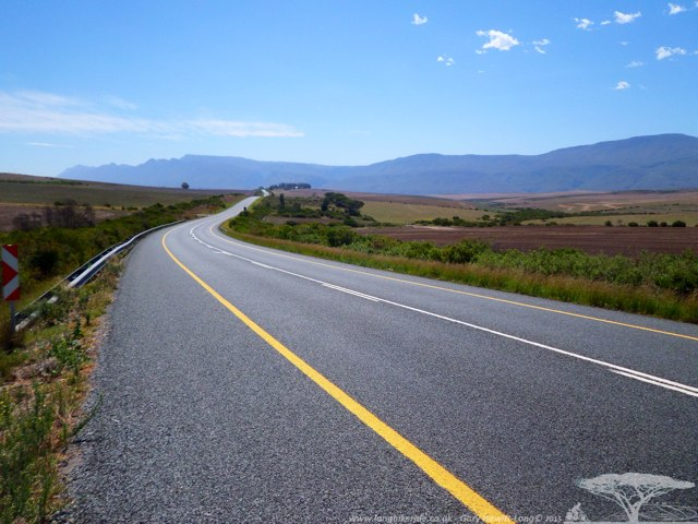 The road to Swellendam