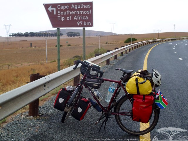 Cape Agulhas this way..