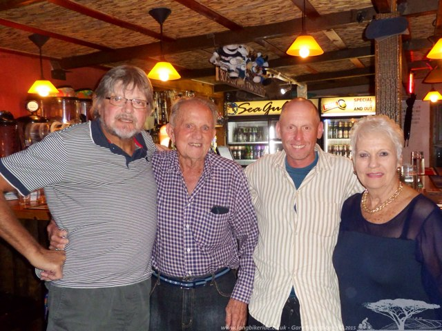 Johan and Family in Cape Agulhas