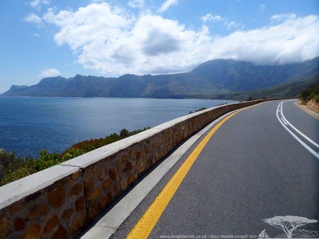 Riding from Bettys Bay to Toward Gordons Bay