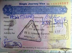 Kenyan Visa