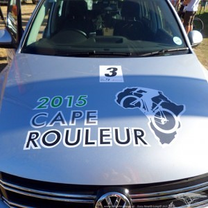 Hot Chillee Cape Rouleur Car #3 ready to go..