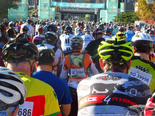 Almost ready to start the Argus - 2015