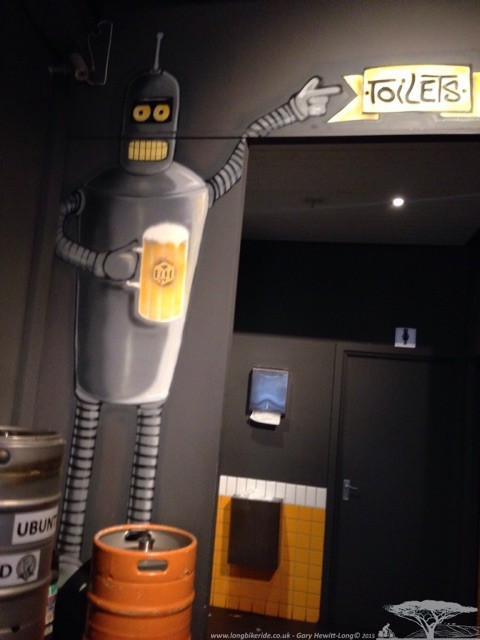Bender - Toilets this way.